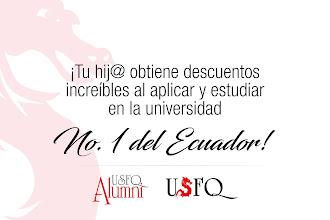 Hijos de graduados obtienen descuentos increíbles al aplicar y estudiar en la universidad No. 1 del Ecuador!