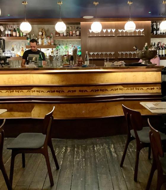 Bar at 40 Dean Street, London
