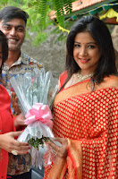 Sakshi Agarwal  in Orange Saree at Inauguration of Handloom And Handicraft exhibition ~  Exclusive 08.JPG