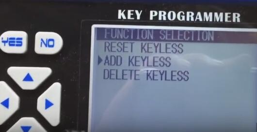 Ajouter Keyless