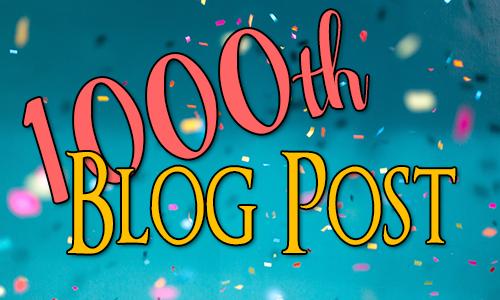 1000th Blog Post - Confetti