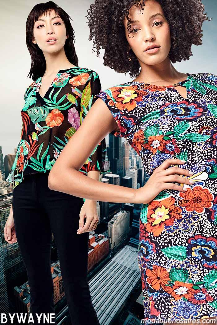 Moda primavera verano 2020 ropa de mujer estilo casual urbano.