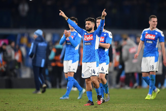 Video Cuplikan Gol: Napoli 2-1 Juventus (Serie A)