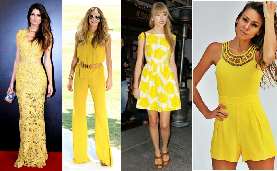Resultado de imagem para amarelo look ano novo