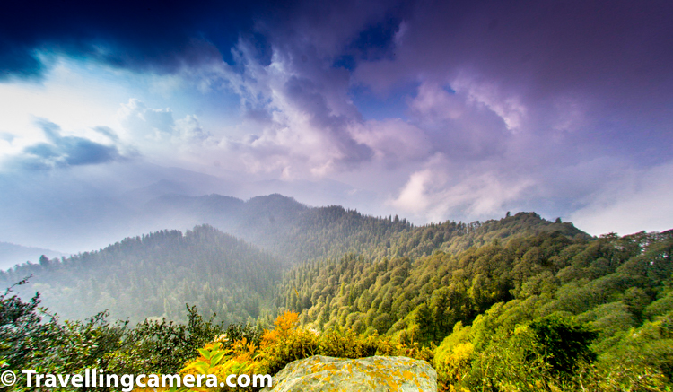 Chail is a hill station in Himachal Pradesh where this highest Cricket ground is located in India. Chail is 44 kilometres from Shimla town and 45 kilometres from Solan. Chail is known for its natural beauty and dense forests, full of variety of vegetation surrounded by high deodar trees. The Chail Palace is well known for its architecture.     Chail is also frequented by hikers as it offers wonderful views of the lower Himalayas, as you can see in above photograph. Chail has good trekking points from Junga, Kufri and Ashwani Khad at Solan. Many Eco camps can be found in this part of Himachal Pradesh. There are many camping sites for campers and hikers, so camping in Chail is most sought after activity for enthusiasts.    Apart from highest Cricket Ground and highest Hockey stadium, now Himachal also have highest Cricket stadium which is located in Dharmshala.