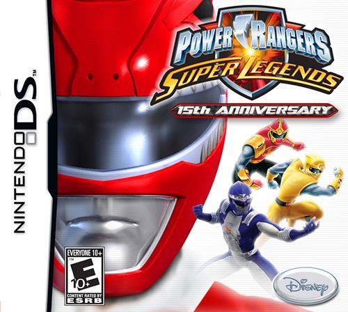 ROMs - Power Rangers - Super Legends - NDS - Download