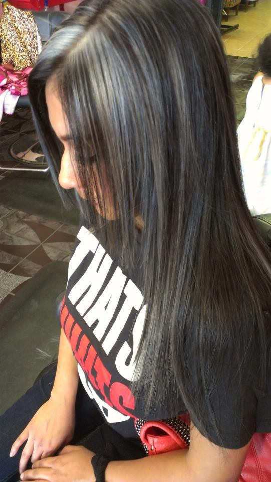 Gray Highlights In Black Hair Full Hd Pictures 4k Ultra Full