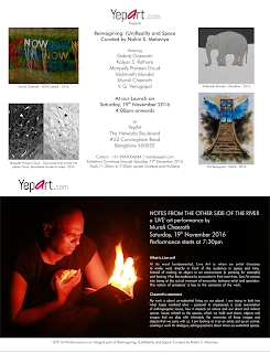 Art News (Bangalore) - Reimagining: (Un)Reality and Space curated by Nalini S Malaviya, Yepart