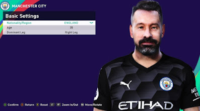 PES 2021 Faces Scott Carson by Rachmad ABs
