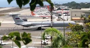VENEZUELA: Un avión de la fuerza aérea rusa aterrizó en la principal terminal aérea de Venezuela.