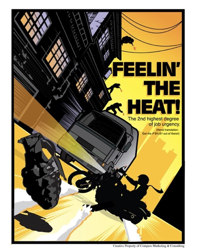 Feelin' the Heat - Blake M. Kandzer