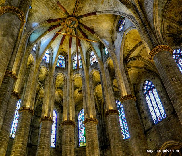 Basílica de Santa Maria del Mar, El Born, Barcelona