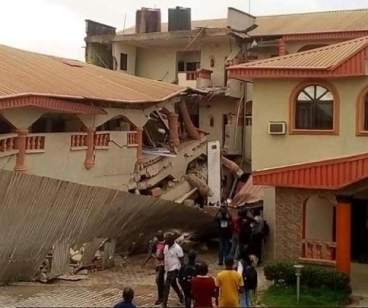 Police Commence Investigations, Arrest Owner Of Collapsed Hotel In Ebonyi State