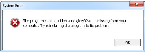Télécharger Glew32.dll Fichier Gratuit Installer