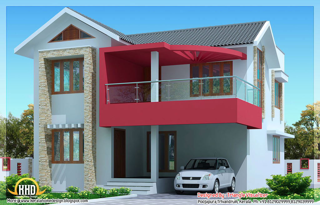 Simple Home Modern House Designs Pictures Very Simple: خرائط منازل بتصميم بسيط