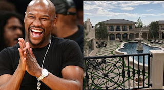 WOW! Floyd Mayweather Shows Off His New House With 17 Bathrooms