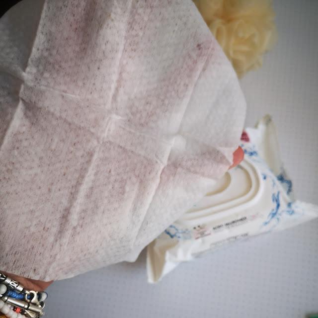 toallita abierta