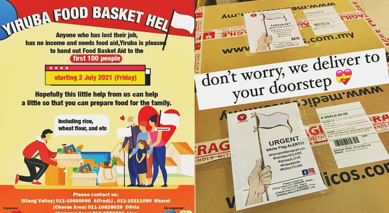 Yiruba Food Basket Aid Campaign