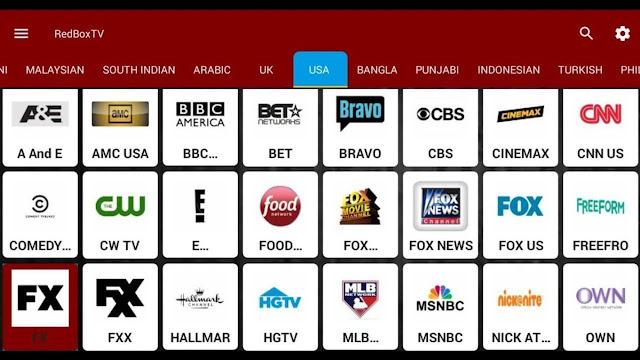 برنامج redbox tv