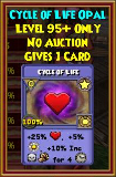Cycle of Life - Wizard101 Card-Giving Jewel Guide