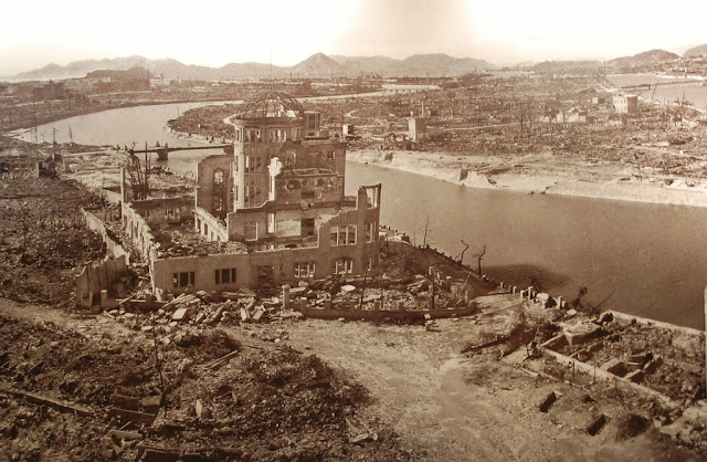 August 6-- 75th Anniversary of the Black Days in Hiroshima-- A Moment through those Days
