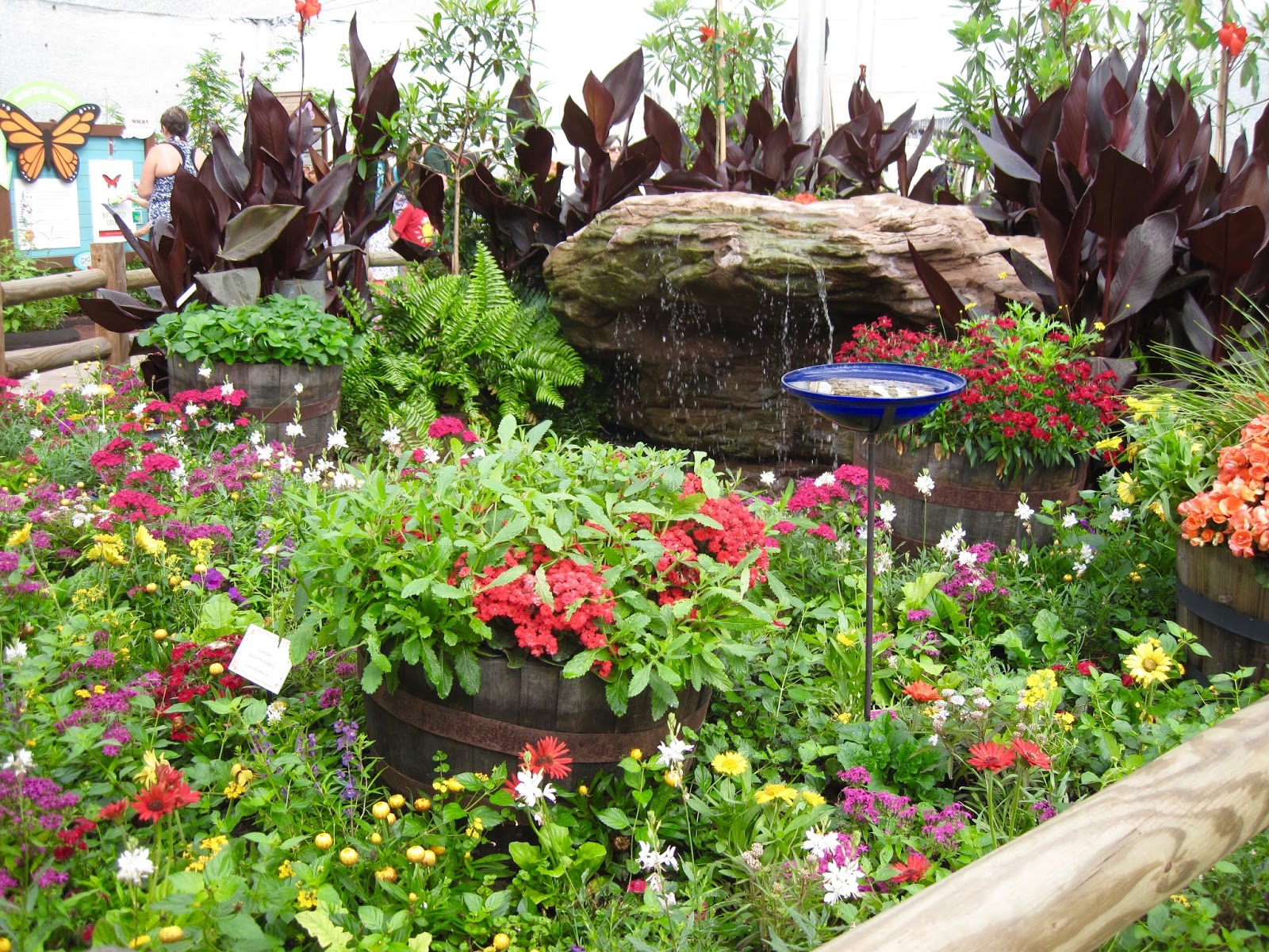 bonney lassie: butterfly garden at the epcot international flower
