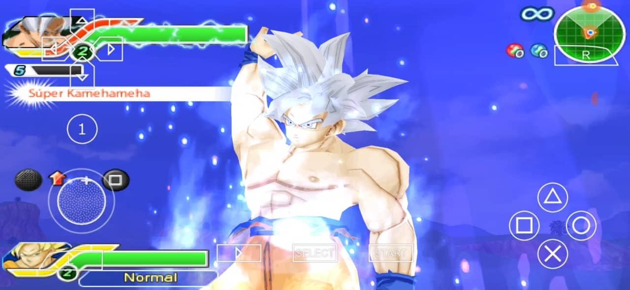 Goku Mastered Ultra Instinct DBZ TTT Mod