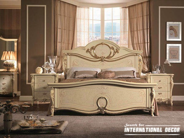 Italian charms bedrooms in classic style