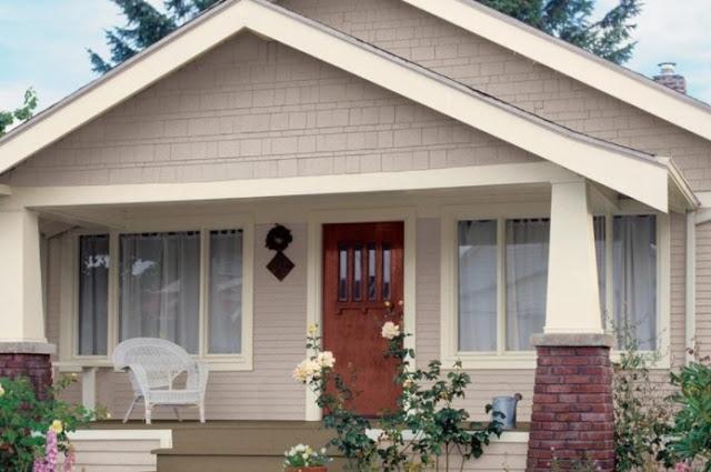 modern gray house exterior color schemes