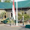 Danrem 141/Tp, Pimpin Upacara Bendera Minggu Pertama di Bulan Oktober 2019