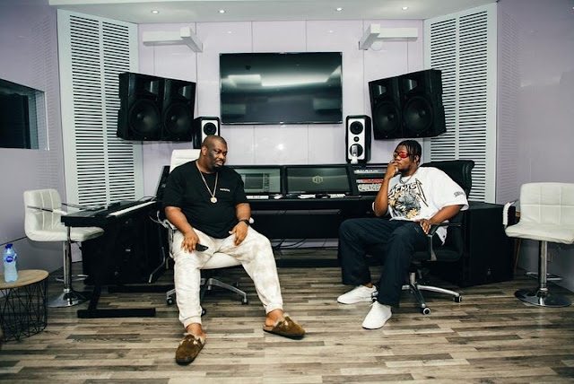 'I Am Your Very Big Fan' - Don Jazzy Declares After Hosting Pheez Mr Producer (Photos)
