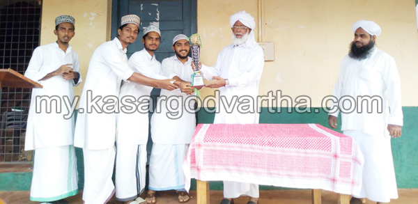 Kerala, News, champions, Trophy, Mahinabad, Labaqa Arts fest; Qurtuba champions.