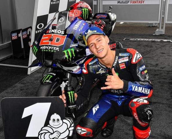 Quartararo Juara motogp Mygello 2021