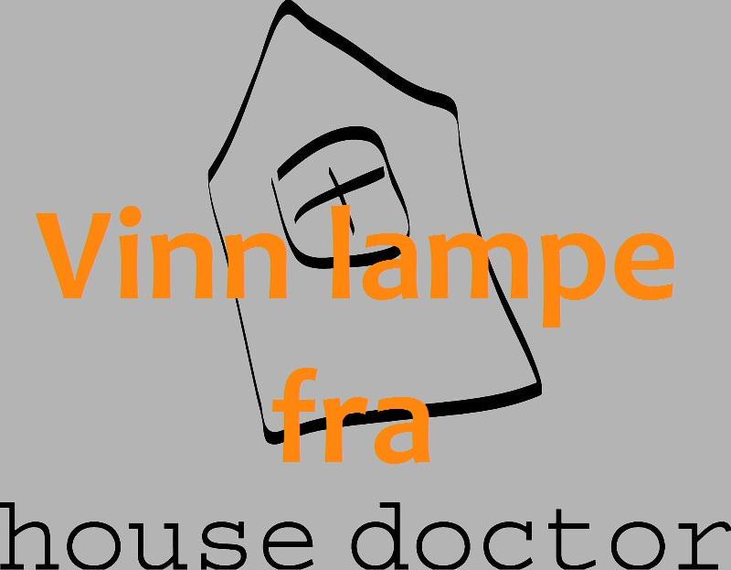 pent hus vinn lampe fra house doctor februarlotteri. Black Bedroom Furniture Sets. Home Design Ideas