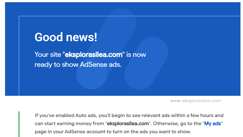 punca adsense tak keluar dekat blog