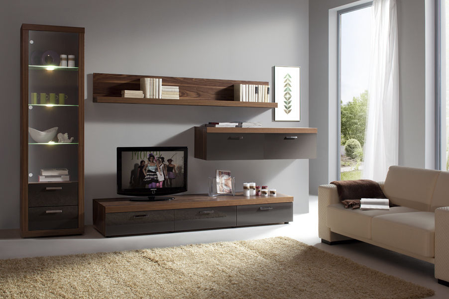 اساليب تصميم ديكور تلفاز مودرن في غرفة المعيشة