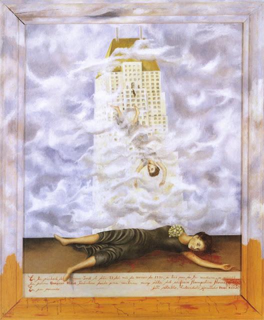 Фрида Кало - Самоубийство Дороти Хейл. 1939
