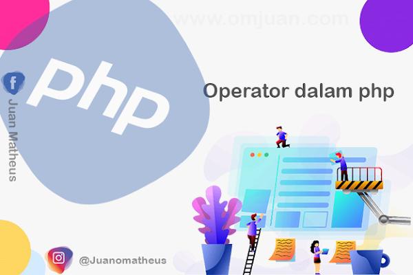 Operator dalam php