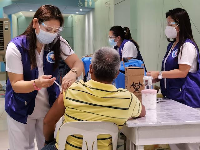 LGU Vaccination Drives held at SM City San Mateo