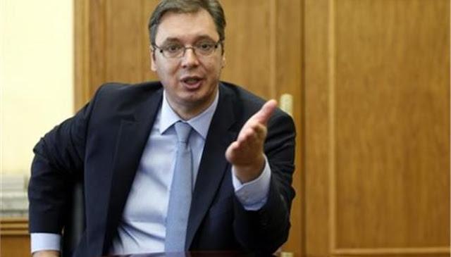 Πιέσεις σε βάρος της χώρας του κατήγγειλε ο πρόεδρος της Σερβίας Βούτσιτς