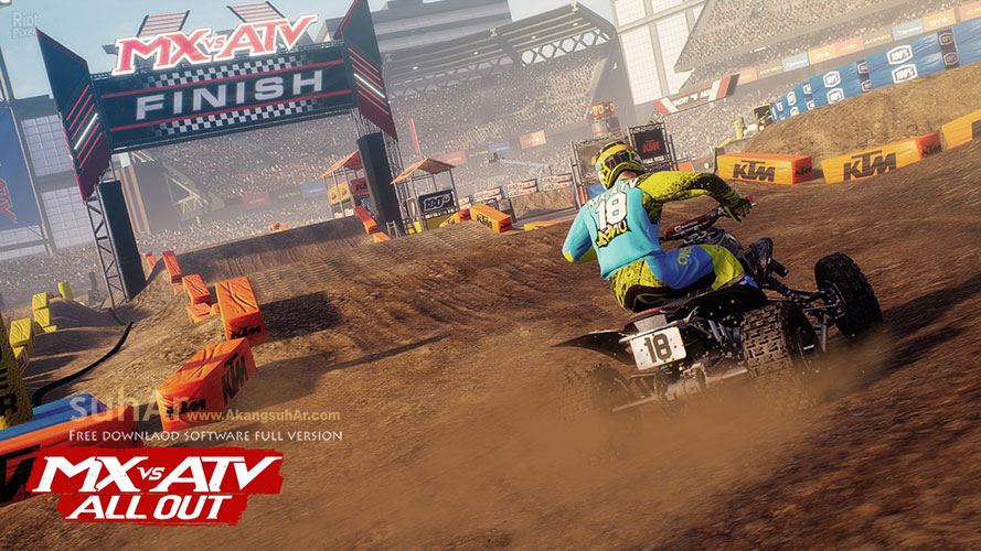 Free Download MX vs ATV All Out PC Game Full Version, MX vs ATV All PC Full DLC Terbaru