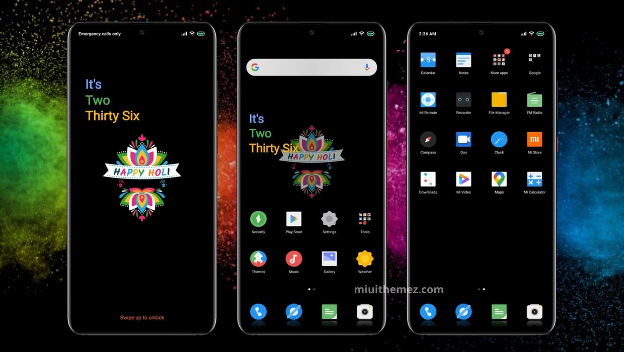 HAPPY-HOLI MIUI Theme