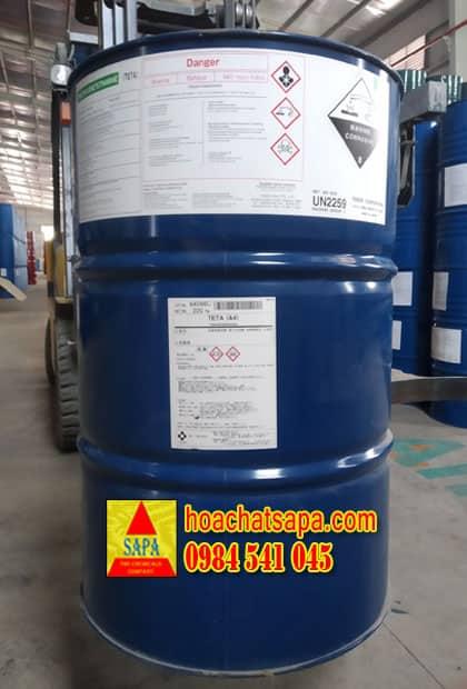 Chất đóng rắn cho nhựa Epoxy Triethylenetetramine (TETA)