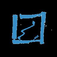 logo Santamaría Fine Art azul