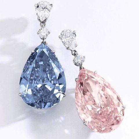 Anting Berlian Senilai Rp.763,5 M Ini Cetak Rekor Sebagai Anting Berlian Langka Termahal