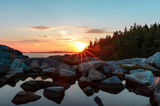 In the Northeast US is a place where people can encounter nature on many levels. Acadia National Park can inspire awe at God's creation work.
