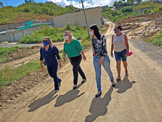 Bom Jardim - PE: Secretárias Mirian Cavalcante (Educação), Elisangela Braz (Finanças) e Jena Cabral (Administração)