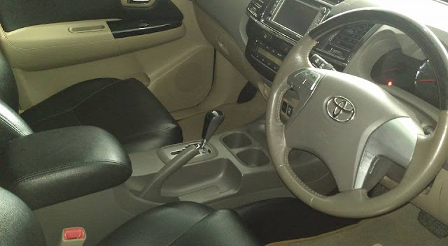 harga bekas Toyota Fortuner TRD tahun 2012