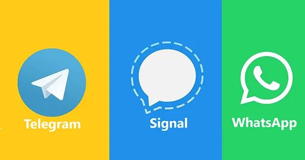 Signal a-t-il de meilleures politiques de confidentialité que WhatsApp et Telegram?