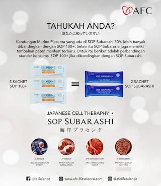 Beli SOP Subarashi Stem Cell | Labuhanbatu Utara
